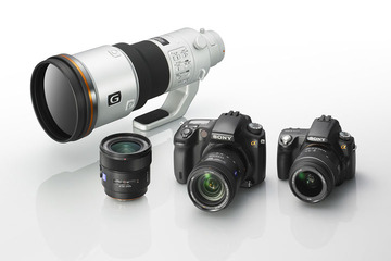 Sony Alpha DSLR New Models