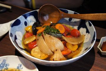 野菜の焼き浸し