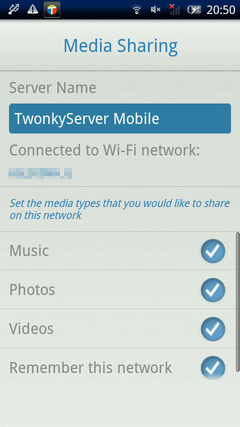 Twonky Mobile
