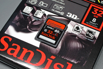 SanDisk Extreme HD Video SDHC 32GB