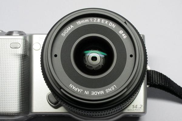 SIGMA 19mm F2.8 EX DN