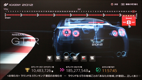 GT アカデミー 2012