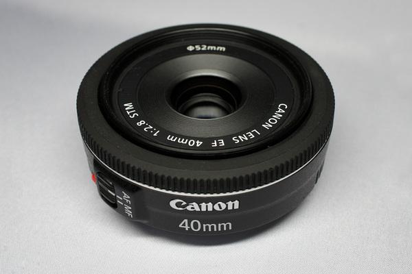 Canon EF40mm F2.8 STM