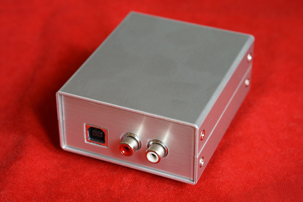 DigiFi No.10 ヘッドホンアンプ用アルミケース