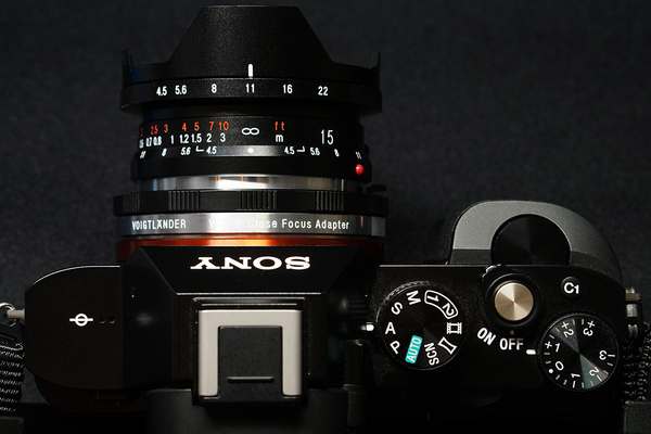 Voigtländer VM-E Close Focus Adapter