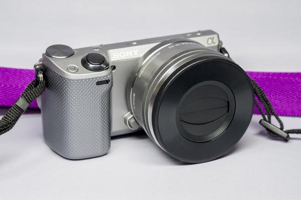 JJC Z-S 16-50 Z-Cap Auto Lens Cap para Sony PZ 16-50mm F3.5-5.6 OSS E-mount