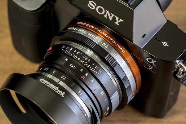 NOKTON 40mm F1.4+VM-E Close Focus Adapter