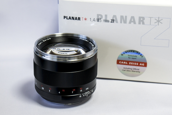 Carl Zeiss Planar T* 85mm F1.4 ZE
