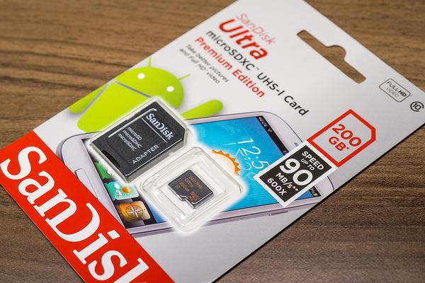 SanDisk Ultra microSDXC 200GB